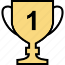 online, teaching, trophy icon