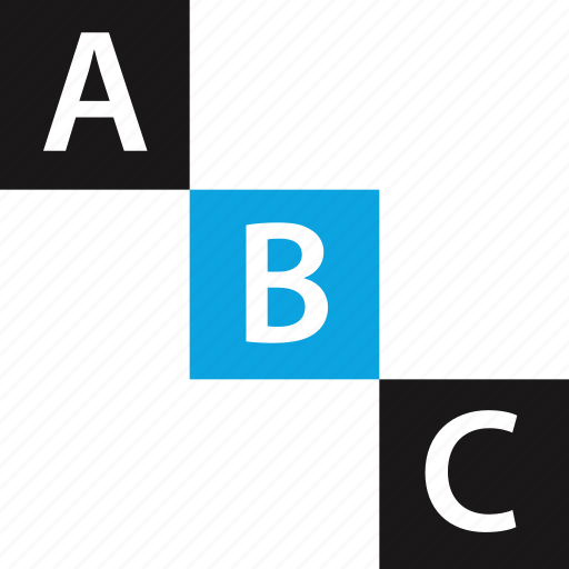 abc, child, early learning, elementary icon