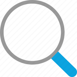 find, look, search, zoom icon