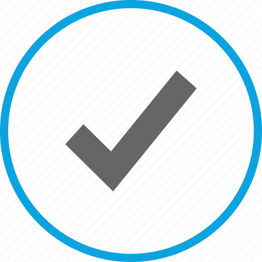 approved, check mark, good, ok icon