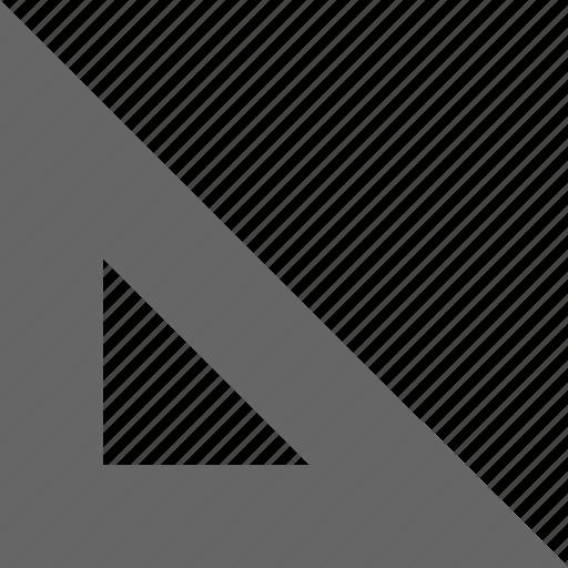 math, measure, problem, rule icon