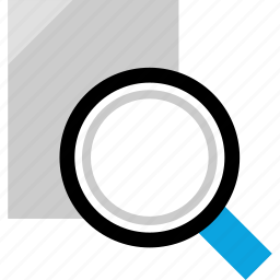look, page, search, searching icon