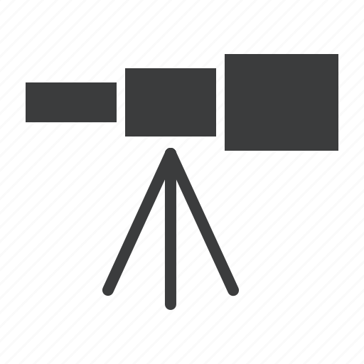 astronomy, device, observatory, space, star, telescope, view icon