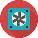 cooler, fan, screw, ventilator icon