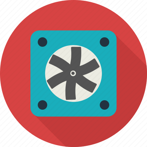 cooler, fan, screw, ventilator icon