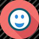emoticon, smile, like, happy