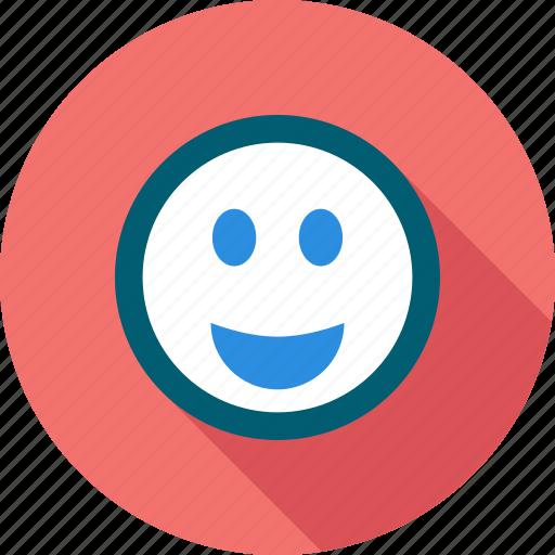 emoticon, happy, like, smile icon