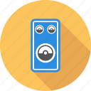 amplifier, column, computing, speaker icon