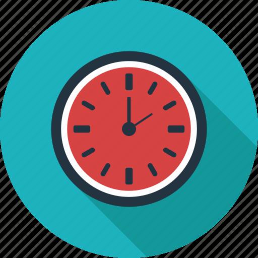 clock, deadline, morning, time, wait, wall clock icon