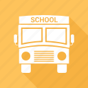 big vehicle, bus, school bus, vehicle icon
