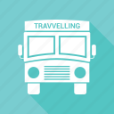 big vehicle, bus, vehicle icon