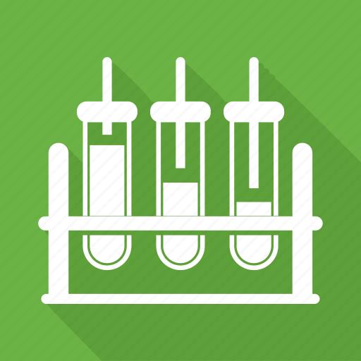 flask, laboratory, test, tube icon
