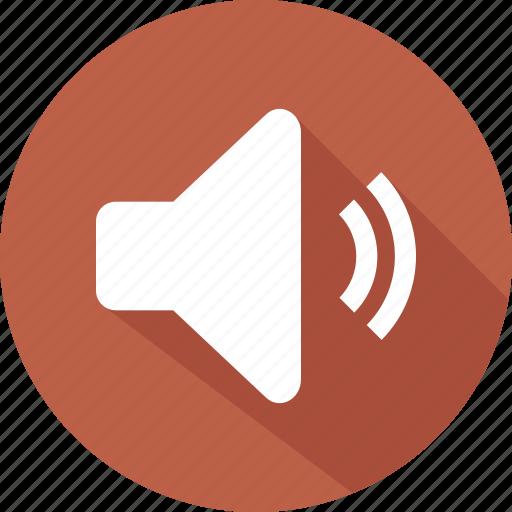 audio, sound, ui, volume icon