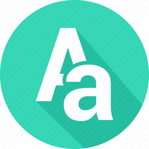 aa, alphabet, creative, design, font, grid icon