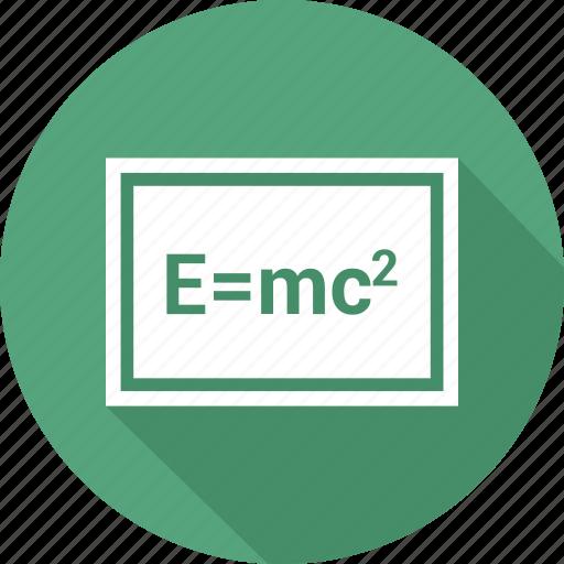 blackboard, education, mathematics, school icon