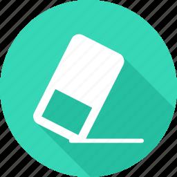 erase, eraser, remove, remover icon