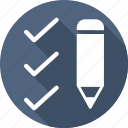 check, draw, edit, pencil, right, write icon