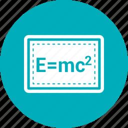 blackboard, education icon