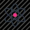 atom, chemistry, math, science icon icon