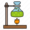 examination, lab glass, laboratory, science icon