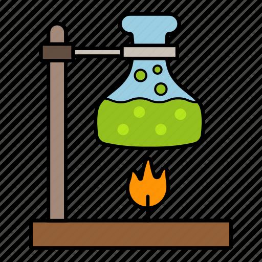 examination, lab glass, laboratory, science icon