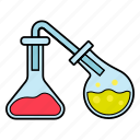 lab glass, laboratory, science icon