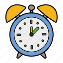 alarm, clock, o'clock, time icon