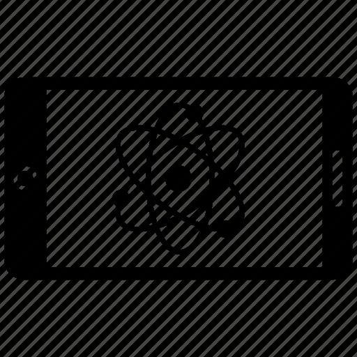 atom, chemistry, education, experiment, laboratory icon
