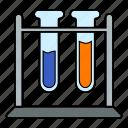 glass, laboratory, test tube icon