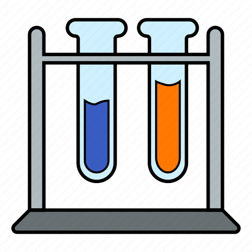 glass, laboratory, test tube icon