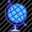 earth, geography, globe, map