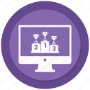 award, online, website, winning icon