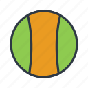 ball, baseball, cricket ball, sports, sports ball icon icon