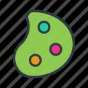 color, paint, paint palette, palette, select icon icon