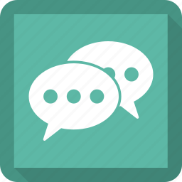 chat, customer support, speech, support icon