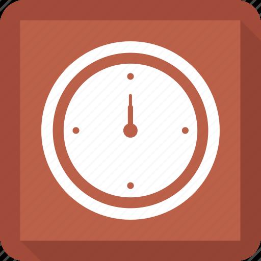 clock, compass, hiking, orienteering, travel icon