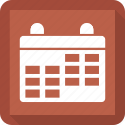 appointments, calendar, date, events icon