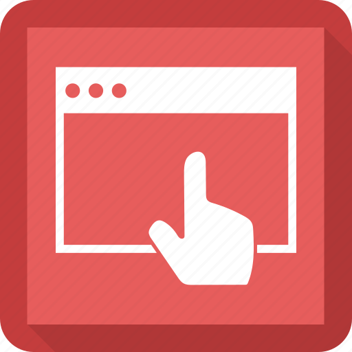 business, click, money, seo, web icon