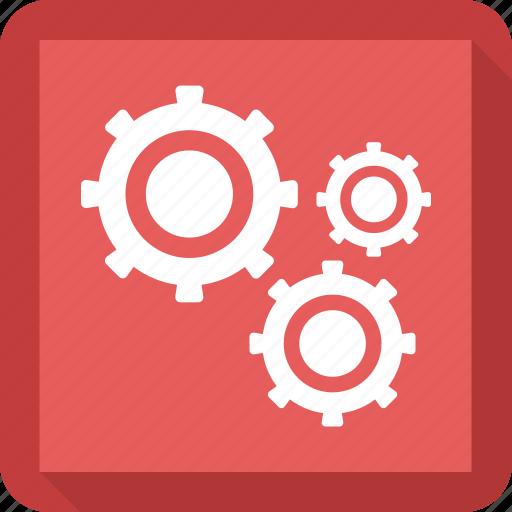 cog, gear, mechanic, setting icon