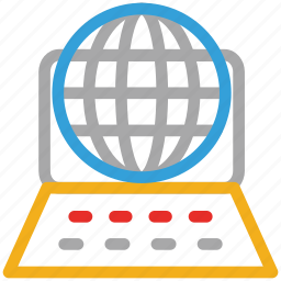 internet, internet connectivity, laptop, network icon