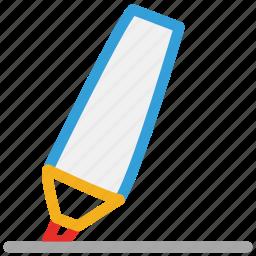highlighter, marker, underline, writing icon