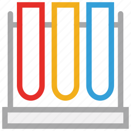 lab test, laboratory test tubes, science, test tubes icon