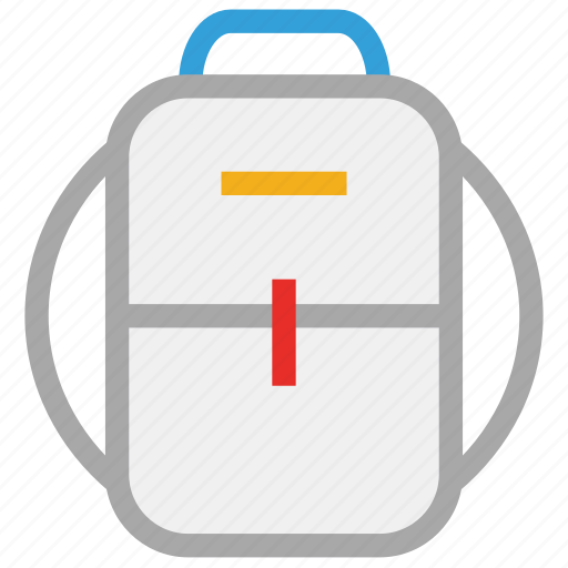 bag, bag for school, school bag, student bag icon