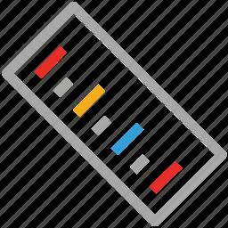 design, measure, ruler, tool icon