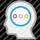 head, human mind, mind, thinking