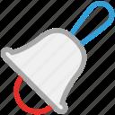 alarm, alert, bell, school bell icon