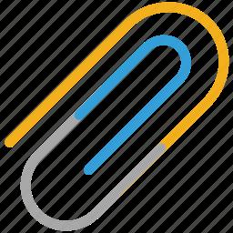 attach file, attachment, clip, paper clip icon