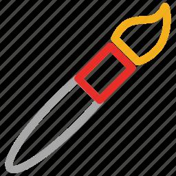 art brush, artist brush, brush, pain brush icon