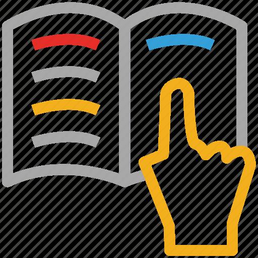 book, book reading, open book, reading icon