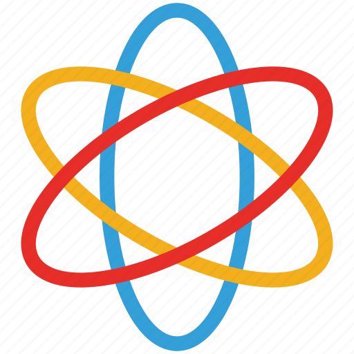 atom, atomic, molecule, science icon